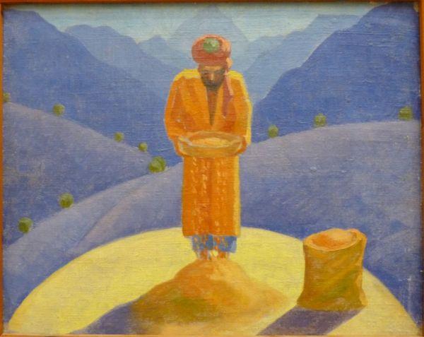Николай Карахан. Веятель в горах