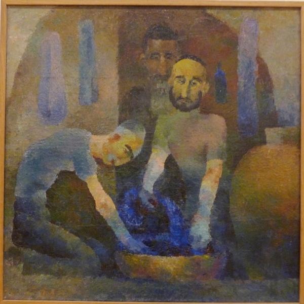 Елена Коровай. Красильщики. 1934