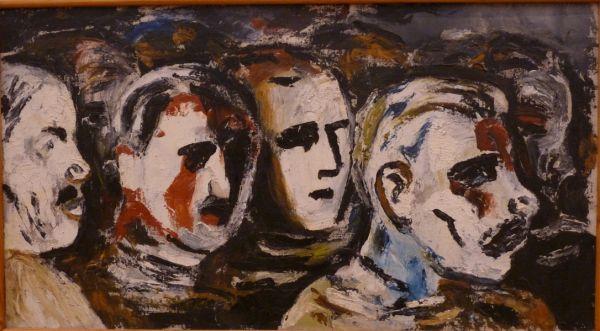 Алексей Моргунов. Зрители. 1929