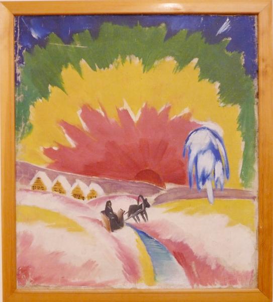Алексей Рыбников. Северное сияние. 1917