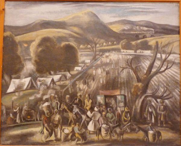Александр Шевченко. Дагестанский пейзаж. 1933