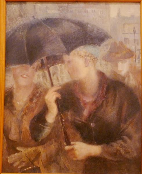 Ирина Штанге. Дождь. 1930