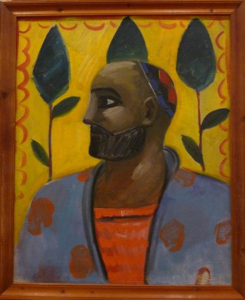 Урал Тансыкбаев. Портрет узбека. 1934