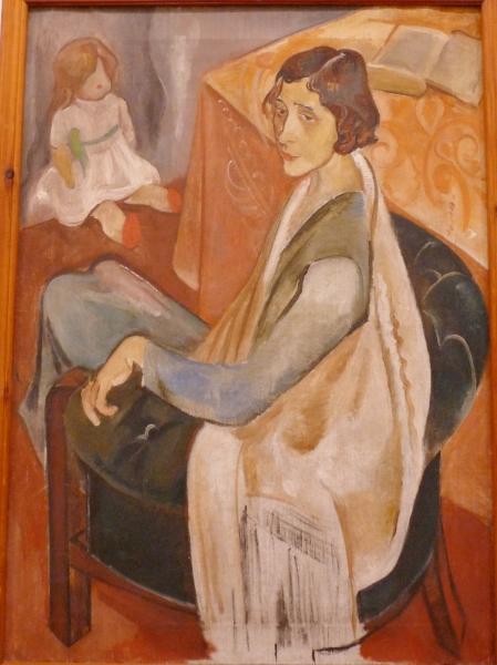 Николай Тарасов. Портрет Горчилиной с куклой