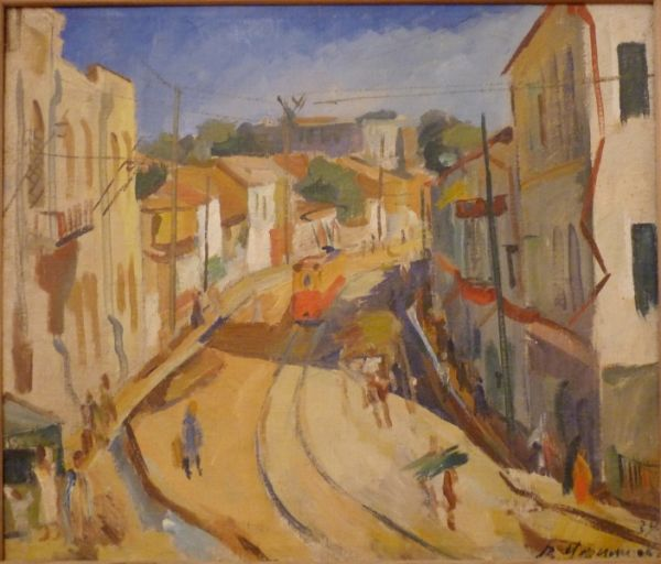 Виктор Уфимцев. Улица Хамзы. 1934